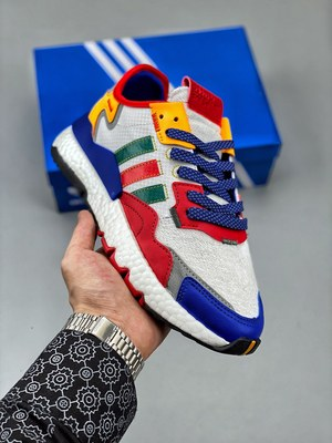 Adidas Nite Jogger Boost 白蓝红-莆田鞋网站