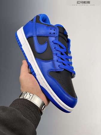 Nike Dunk Low Hyper Cobalt 皇家蓝-红马鞋库