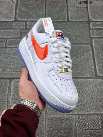 "Nike Air Force 1 Low""What The NYC""纽约 白蓝橙"